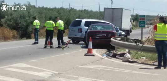 Accidente tráfico A-318